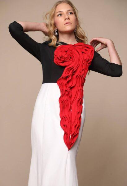 שמלות ארוכות לנשים וינה לבן