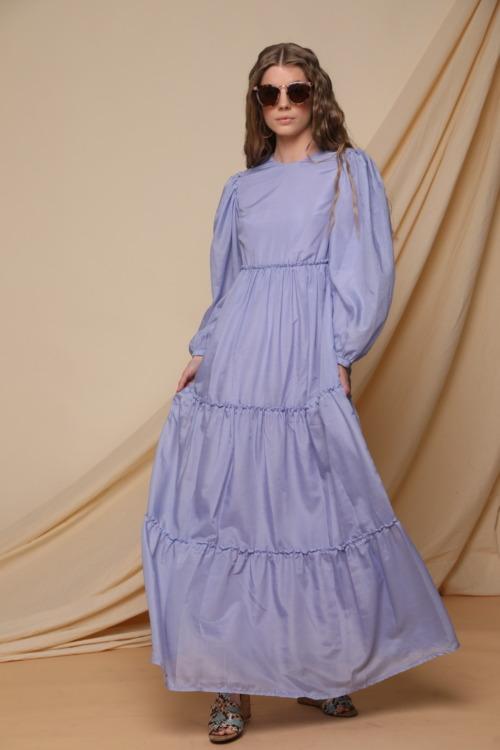 שמלה סגולה